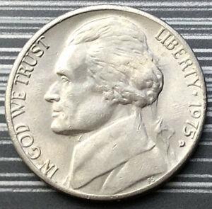 1975 UNITED STATES OF AMERICA U.S.A - US FIVE CENTS 5 CENT COIN - MONTICELLO