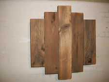 Contemporary Barnwood Wall Art Rustic Decor Reclaimed Wood Sculpture