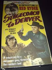 Great American Western Classics STAGECOACH to DENVER VHS 1991 ~ 01871308213