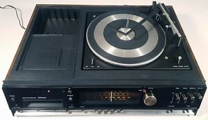 JC PENNEY 1778 STEREO RECEIVER TURNTABLE 8-TRACK TAPE RECORDER VINTAGE 1975