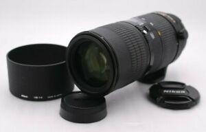 [Near Mint-] NIKON ED AF MICRO NIKKOR 70-180mm F/4.5-5.6 D SN 207227 From Japan