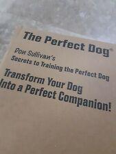 Don Sullivan Secrets to Training the Perfect Dog System Kit
