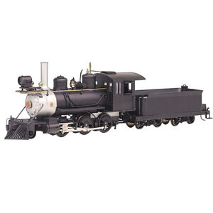 Bachmann 29304 Painted Unlettered Black - DCC Sound Ready 2-6-0 Locomotive On30