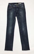 Gas jeans usato paige donna slim skinny stretch w28 tg 42 boyfriend denim T3738