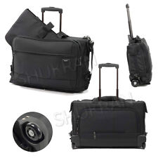 Rock Onboard Tri-fold Garment Laptop Carrier on Wheels Hand Luggage 50x40x20cm