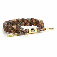 Rastaclat Orange Black Bengal Tiger Braided Shoelace Bracelet Wristband