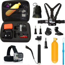 10 in 1 Accessories Kit for GoPro Hero 5 4 Session 3+ 3 xiaoyi Action Cam sjcam