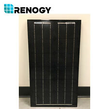 Open Box Renogy 30W Solar Panel  Mono Off Grid 12V Camping RV in Fair Final Sale