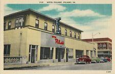 Old Postcard - Hotel Pulaski - Pulaski VA
