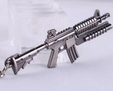 Cross Fire CS CF Submachine Gun KeyRing M16A1 Miniature Weapon Model Keychain ^