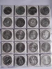 Unzirkulierte Münzen aus Portugal
