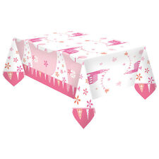 Amscan International 9901874 1.8 X 1.2 M Communion Church Pink Plastic Tablecover