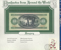 World Banknotes Hungary 10 Forint 1969 UNC P 168d  A413 Low serial 009961