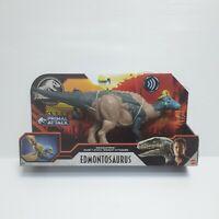 Jurassic World Primal Attack - Sound Strike Edmontosaurus Dinosaur Figure Toy