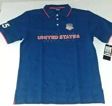 Formula 1 United States Grand Prix COTA Mens Crest Ribbed Polo NWT XL 2221