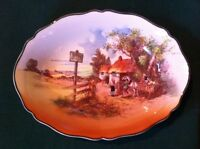Royal Doulton D6297 Rustic England Toll House Bowl Dish