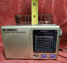 Vintage 9 BAND World Radio By Bell and & Howell