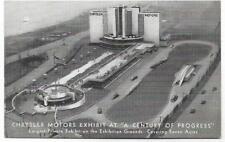 B&W CRYSLER MOTORS EXHIBIT,CENTURY OF PROGRESS INTERNATIONAL EXPO~CHICAGO,IL