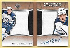 15/16 Ultimate Rookie Book Nicolas Petan Dual Jersey On Card Autograph #66/99