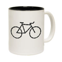 Chain Gang Bicycle Tea Novelty Cyclist Idea 123t MUG birthday office funny gift