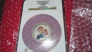 2013 Fiji S$20 GREAT BARRIER REEF 2 OZ .999 SILVER EXOTIC WILDLIFE  NGC MS69