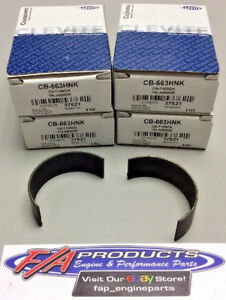 Chevy Small Block And LS Engines Coated Rod Bearings Clevite CB-663HNK Set Of 8