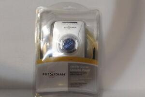 PreSidian pocket AM/FM Stereo Cassette Player Vintage Earbuds & Headphone New