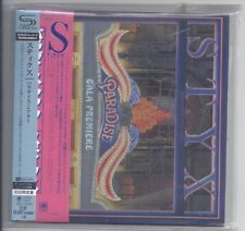 STYX Paradise Theatre  JAPAN mini lp cd SHM HR Cutting UICY-76104 theater  NEW