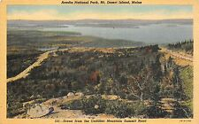BF35969 acadia national park maine bar harbor my desert is USA   front/back scan