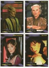 Babylon 5 Special Edition Trading Cards Faces of Delenn Chase Card Set D1-D4