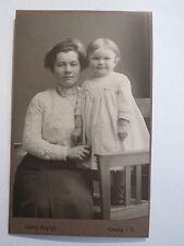 Coswig I. S. - Donna con piccolo bambino-Portrait/CDV