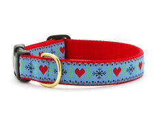 Up Country - Dog Puppy Design Collar - Made In USA - Fair Isle - XXLarge