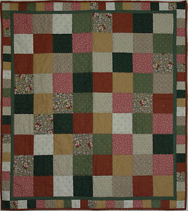 patchwork quilt kit - country quilt kit Easy Sewing Beginners