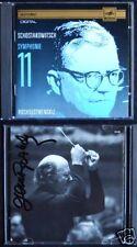 Gennadi ROZHDESTVENSKY Signed SHOSTAKOVICH Symphony 11 USSR CD Eurodisc