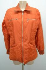 NAF NAF VESTE MANTEAU JACKET CHAQUETA T40 40 L ORANGE