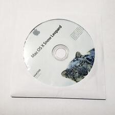 Apple X Snow Leopard Mac OS X OSX 10.6 Install DVD osx installation disk disc