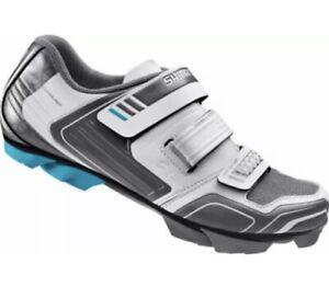 Shimano Pedaling Dynamics Strap Cycling Shoes SH-WM53W Womens White Size 44/11