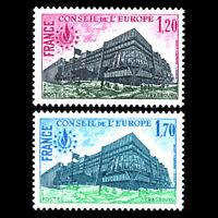 France 1978 - Palace of Europe - Sc 1o23/4 MNH