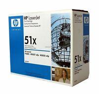 HP Q7551X Black Toner Cartridge 51X Genuine New