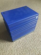 11 PS2 Playstation 2 empty blue/grey cases, used but good condition BUNDLE