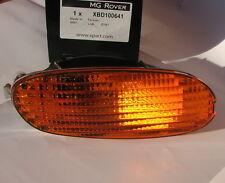 Mg Rover F Mgf derecha Indicador Frontal Naranja seglar Ámbar Luz Lámpara XBD100641 Nuevo