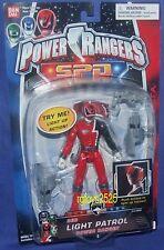 "Power Rangers 5"" SPD Light Patrol RED Ranger New Factory Sealed made 2004"