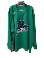 Florida Everblades BAUER Mens XXL Green Practice Jersey #24 Hockey Minor League