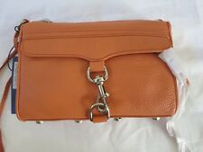 Rebecca Minkoff MAC 10ZELLCRE2 CORAL Convertible Cross-Body Handbag Purse M.A.C.