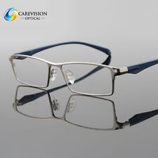 Men Fashion Titanium Full Rim Myopia Eyeglasses Frames Optical Eyewear RX Able