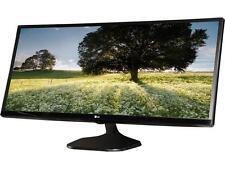 "LG 34UM58-P Black 34"" 5ms (GTG) HDMI Widescreen LED Backlight LCD Monitor"