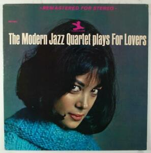 The Modern Jazz Quartet Plays For Lovers LP Manche Seulement Ex + 1964 Prestige
