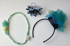 Lot Of 4 Girls Gymboree Crazy 8 Hair Accessories EUC & NWT Headband Barrettes