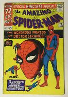 Amazing Spider-Man King-Size Annual #2 GD 1965 Marvel Comics Ditko Dr Strange