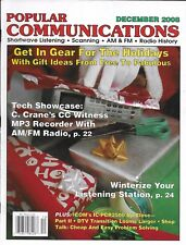 Popular Communications magazine Holiday gear gift ideas MP3 recorder Station